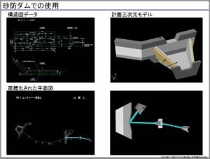 砂防ダム|3Dレーザースキャナー活用