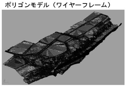 3D計測|ポリゴンモデル ワイヤーフレーム