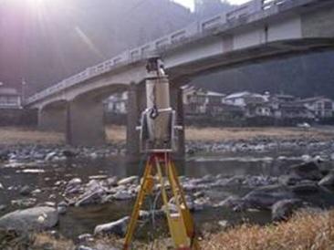 レーザー計測機 橋梁
