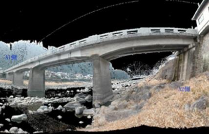 橋梁 3D計測後データ