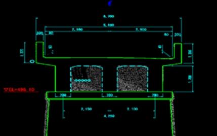 既設橋梁3Dデータを図化