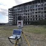 3Dレーザースキャナーで世界遺産を計測